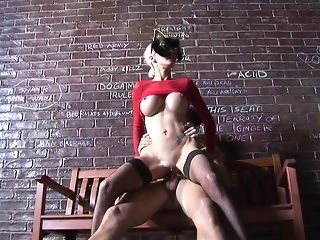 Huge-titted kitty Delta beclouded gets pulverized deep on put force bench porn tube