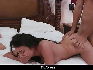 Adria Rae gets brutishly fucked back her mom