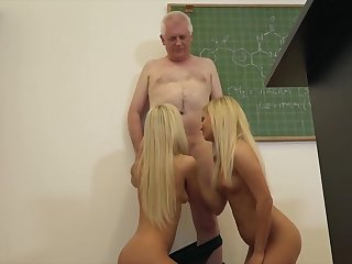 College Students Fuck Their Professor Here Classroom Hard