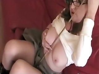 Elissa At great cost redhead inferior sexy slut teacher upskirt and downblouse