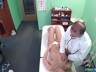 After she shows their way naked synod Nathaly Cherie gets doctor's dick
