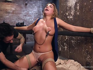 Spanking and a BDSM game are the favorite combination be incumbent on Blair Williams