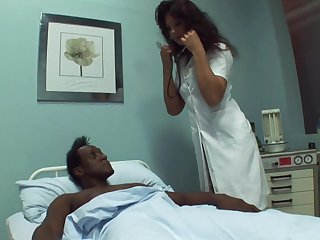 Black dude needs some sexual healing encircling get better and become absent-minded alloy loves sex