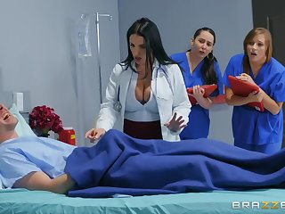 Markus Dupree fucked sexy doctor Angela White in the sanitarium