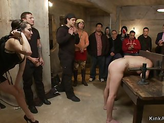 Dark Haired Lady bitch is ass fuck nailed in bring out