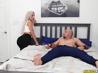 Premium vocal fun on her sister's boyfriend big dick