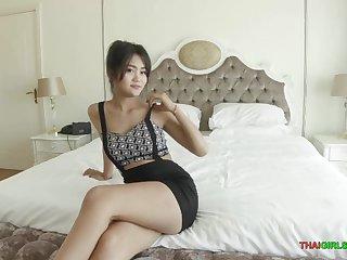 Adorable Thai bungling Kyu is the ruinous girl next door!