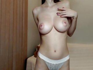 Perky Big Tits Incredibly Hot Camgirl
