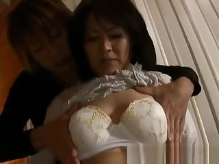 Mature unquestionable asian woman getting part3