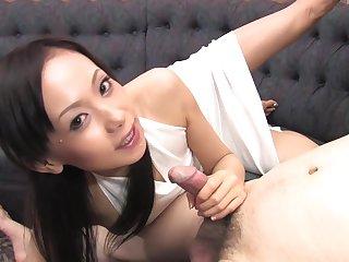 Asian, Brunette, Cum, Deepthroat, Facial, Japanese, Shave, Swallow