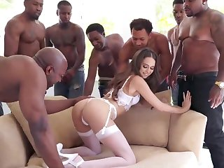 BIG BLACK Weasel words Group Sex Riley Reid