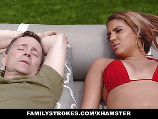 FamilyStrokes - Blocked Masturbating and Fucked Wits Stepmom