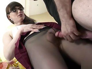 Hot transsexual anal together with cumshot Scene 0
